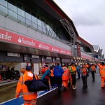 2011 British Grand Prix: Silverstone - Pit Lane Complex