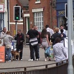 Street drunks. Tunstall high street