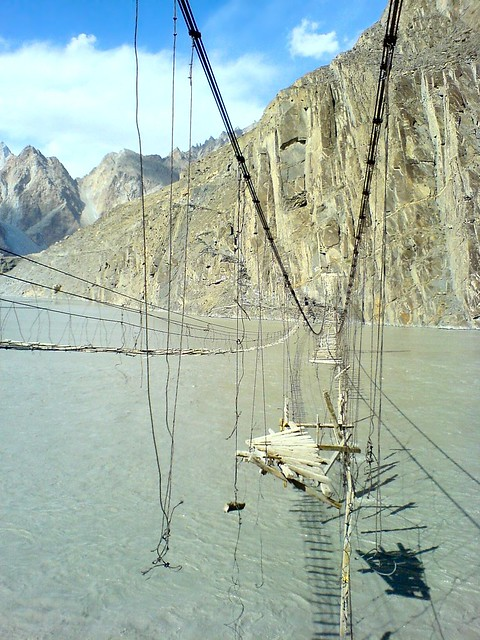 Passu - Hussaini Suspension Bridges