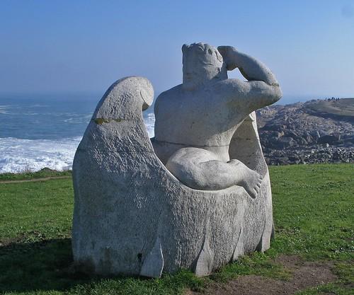 Hércules na nave dos argonautas (Parque escultórico da Torre)