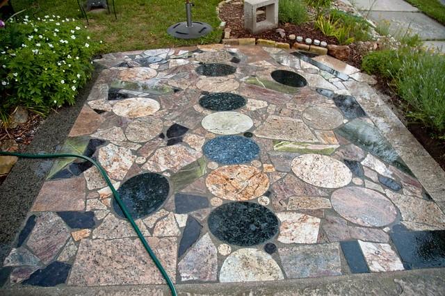 Scrap Granite Countertop Patio An Album On Flickr