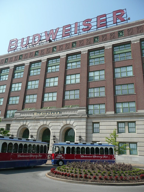 Anheuser Busch Brewery by CC user 16801915@N06 on Flickr
