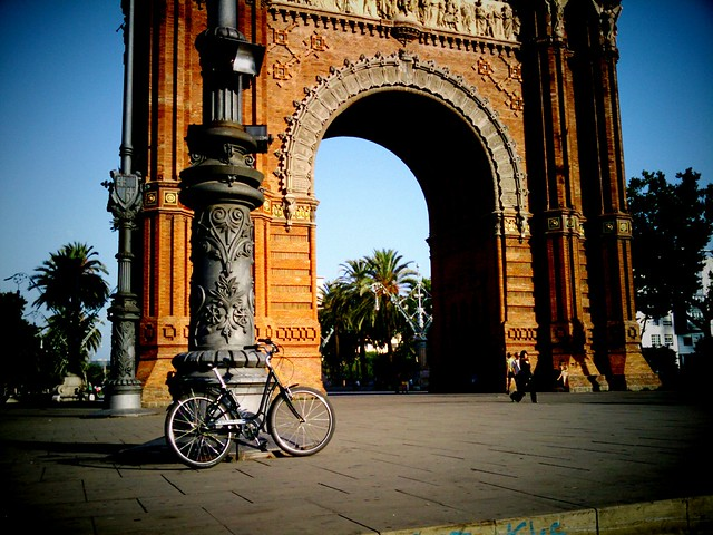 Arc de Triomf de Barcelone. Photo par Mataparda de Flickr
