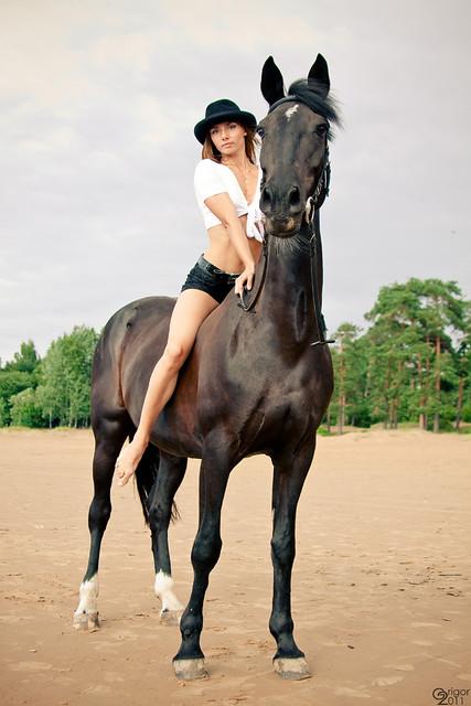 Horsewoman Horseback