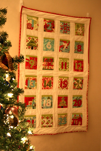 Countdown to Christmas quilt 2