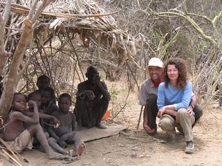 Avec les Bushmen