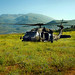 Israeli Black Hawk Helicopter Lands in the Golan Heights