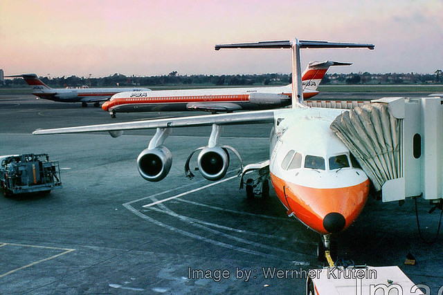 BAe-146, PSA, Pacific Southwest Airlines, LAX