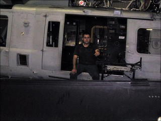 UH-1Y Yankee & my son - photo jeannerene