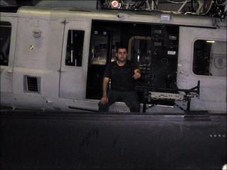 UH-1Y Yankee & my son - photo jeannerene