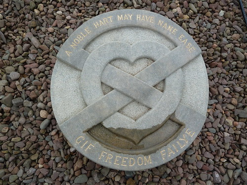 Burial Place of Heart of Robert the Bruce