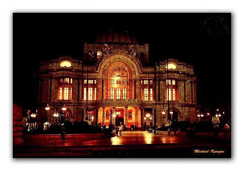 Palacio de Bellas Artes, Mexico DF.