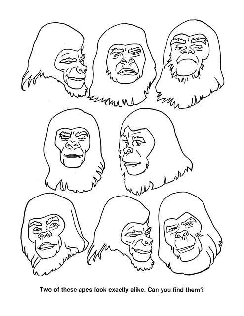 Planet of the Apes Activity Book 0100022
