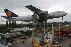 LUFTHANSA Boeing 747-230B(M) mit Kennung: D-ABYM