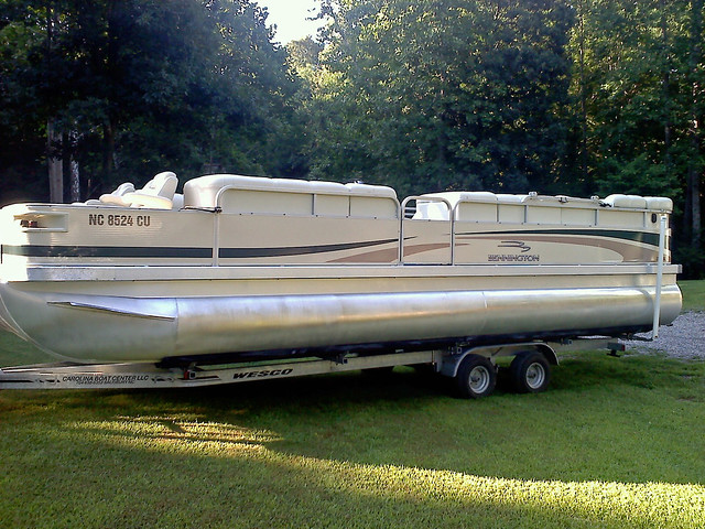 Pontoon Boat Wrap Flickr Photo Sharing