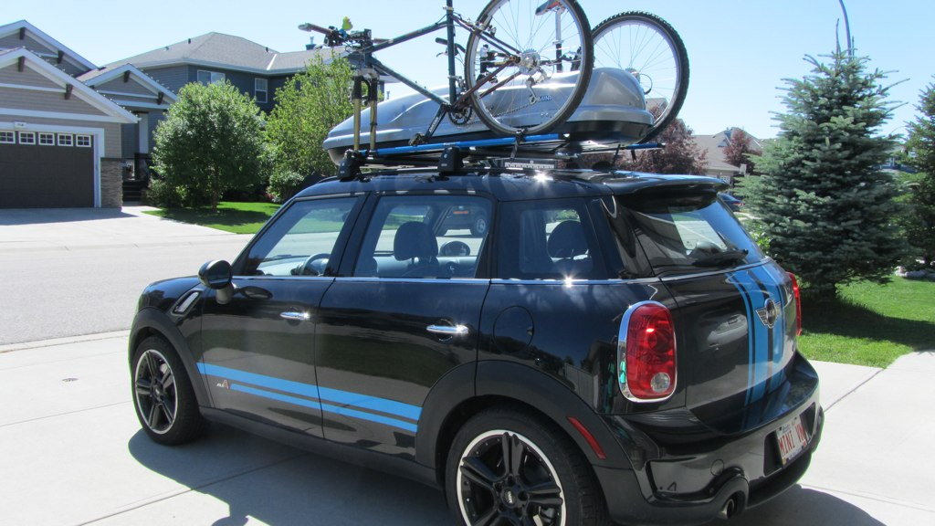 Rails Bike Rack Cargo Box For Countryman North