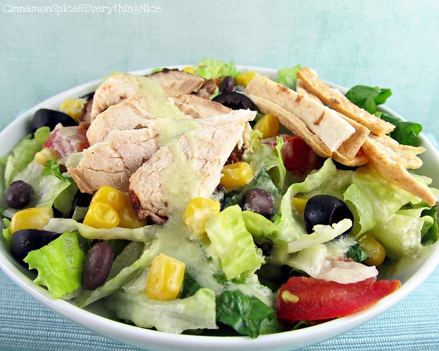 Southwest Chicken Salad with Avocado Lime Dressing | Flickr - Photo ...