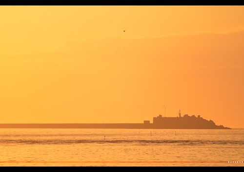 city seascape france golden nikon hour normandy waterscape cherbourg 70210mm tourlaville d7k d7000 haaghun