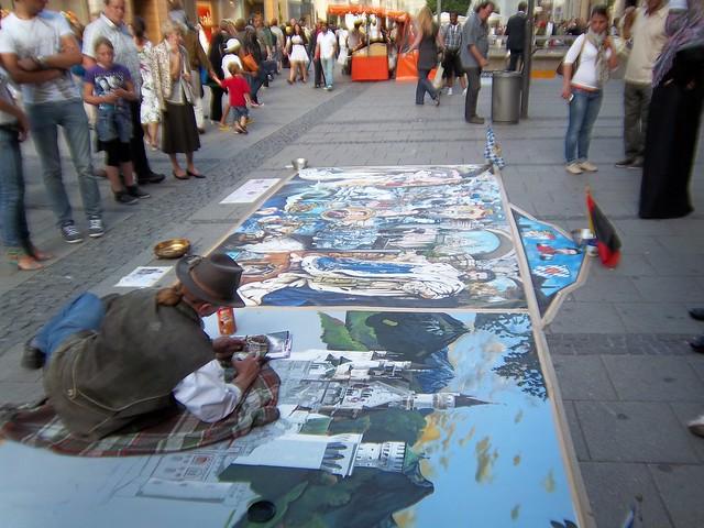 Street Artist - Flickr CC Lauren J