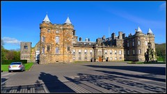 The Royal Palace of Holyroodhouse - Western Facade