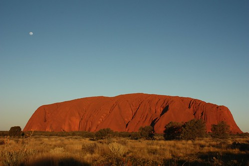 Sunset at Uluru / Ayers Rock - Northern Territory - (Australia)