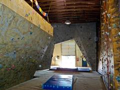 Yeti's Lair Climbing Gym, Klamath Falls, Oregon