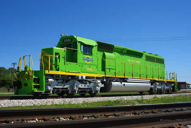 Rrc 3086 Emd Sd40 2 At Granite City Il Flickr Photo Sharing