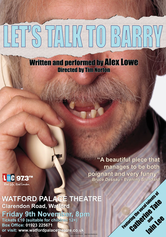 Alex Lowe:Let's Talk to Barry