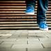 blue shoes by baaasti