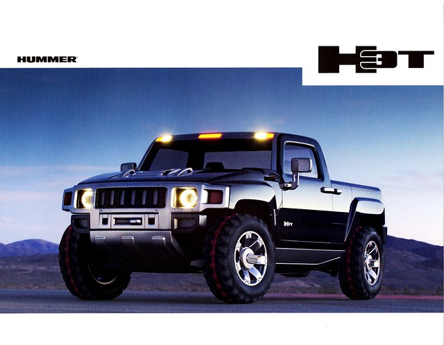 2004 hummer h3t concept truck flickr photo sharing. Black Bedroom Furniture Sets. Home Design Ideas