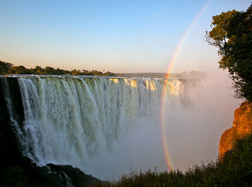Victoria Falls - Zimbabwe Side by jurvetson