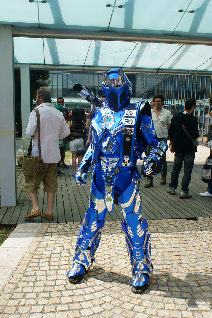 Robot Cosplay Very Intricate Costume Otomodachi Flickr