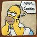 Homer Loves Cookies by TheHungryHippopotamus