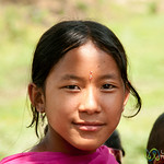 Garo Girl with Bindi - Srimongal, Bangladesh