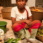 Older Marma Woman as Vendor - Bandarban, Bangladesh