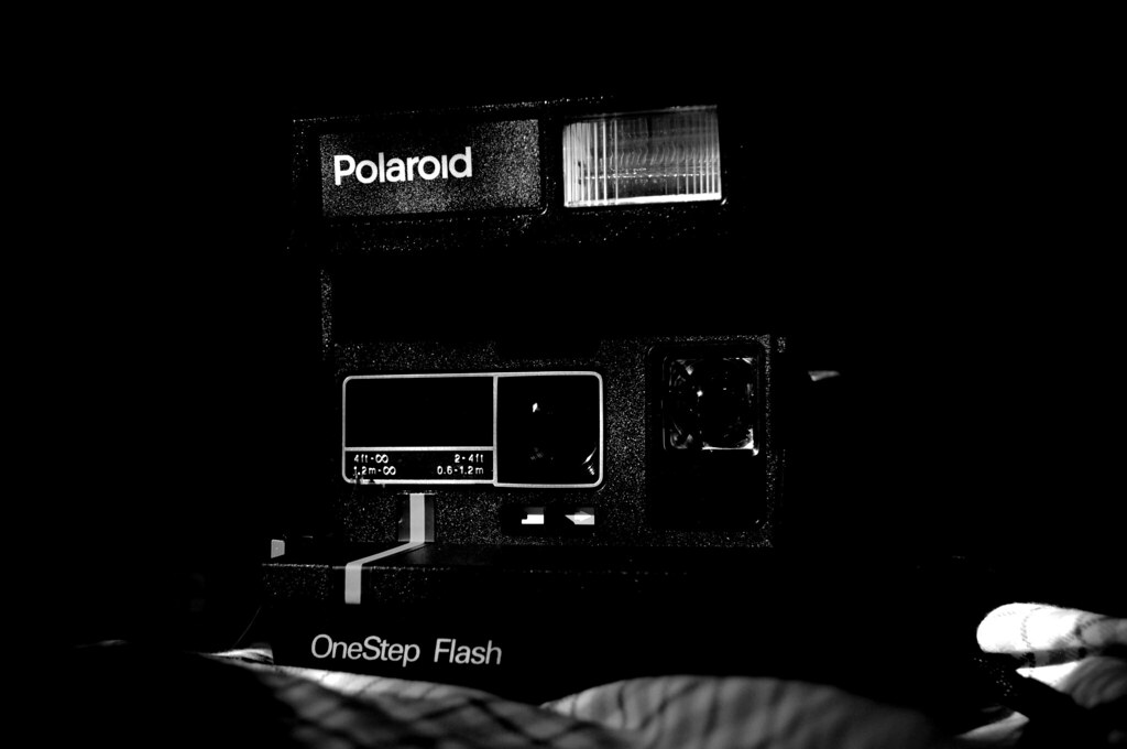polaroid 600 how to change battery