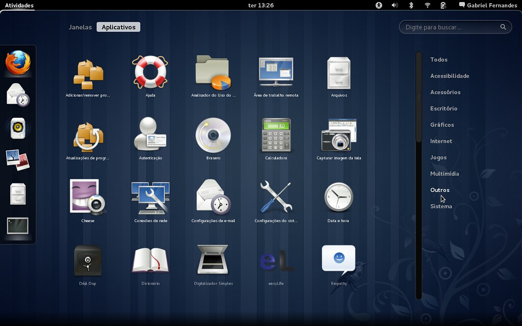 Fedora 15 - Programas