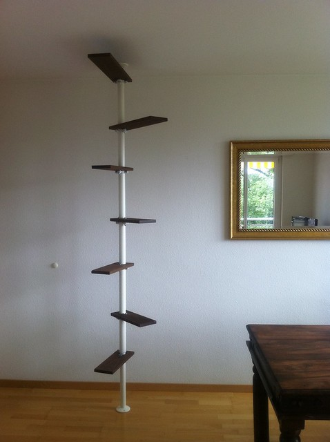 Stylish cat shelves : Ikea hack cat ladder