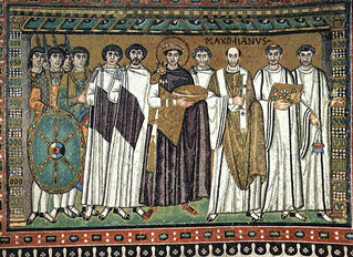 Ravenna - Justinian Mosaic at San Vitale