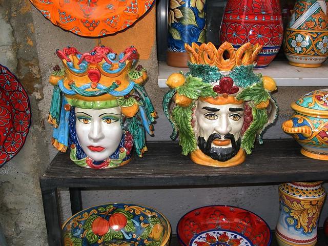 Ceramiche di santo stefano di camastra italian tiles ceramic and pottery pinterest - Ceramiche santo stefano di camastra piastrelle ...