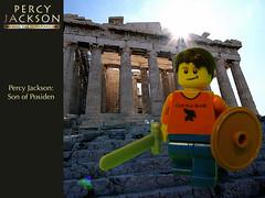 Lego Percy Jackson - a set on Flickr  Lego Percy Jackson Luke