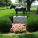 Seattle Slew Monument at Three Chimneys Farm