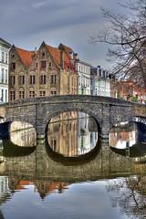 Bridge and Hotel Tur Brughe, Brugge (Bruges)