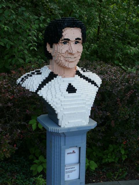 LEGO-Büste: Michael Ballack