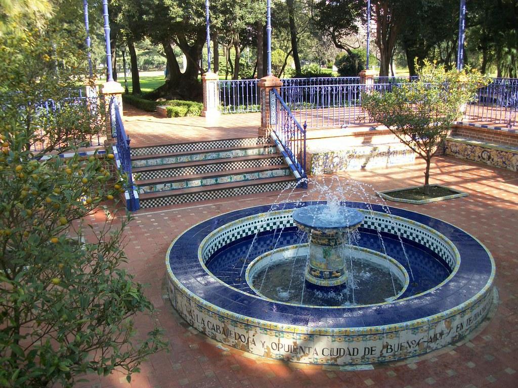 Le rosedal de palermo buenos aires le petit herge de for Jardin andaluz