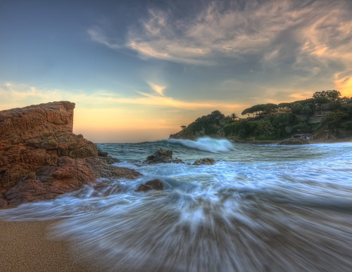 sunset costa seascape de mar nikon sigma catalonia catalunya 1020 sant brava hdr cala lloret blanes francesc mediterranian catalogne mediterrani d90 christianalicia