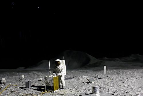 Apollo Project 11 (Deutsches Museum, Munich, German)