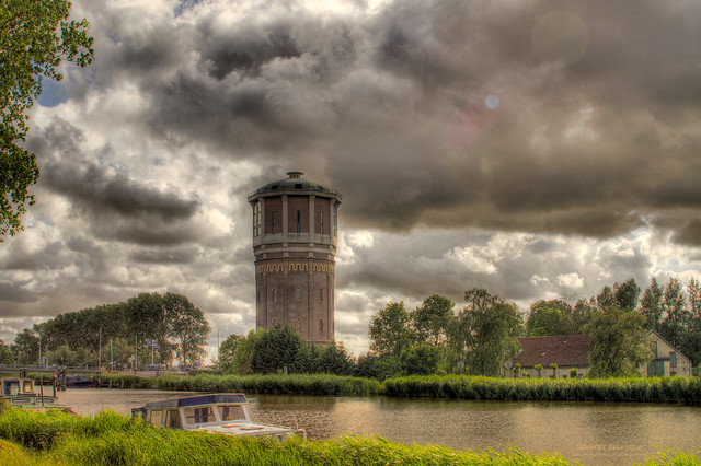 Watertoren - Assendelft - Holland - HDR