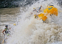 kayaking(0.0), whitewater kayaking(0.0), vehicle(1.0), sports(1.0), rapid(1.0), recreation(1.0), outdoor recreation(1.0), boating(1.0), extreme sport(1.0), water sport(1.0), boat(1.0), rafting(1.0),