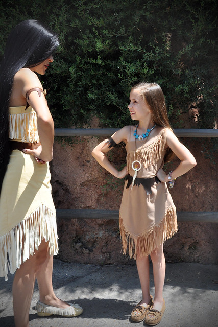 Pocahontas and Haylie